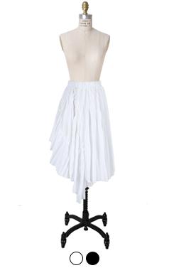 athleisure pleated skirt