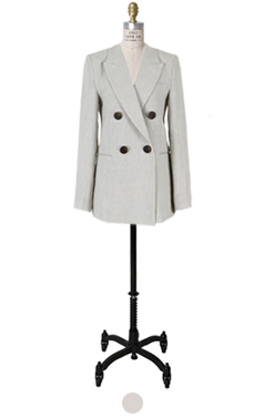 wellmade linen blended blazer