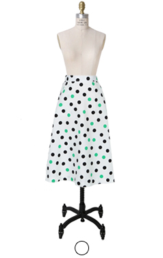 DOT DOT A-line skirt