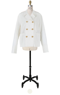 wellmade lined linen jacket