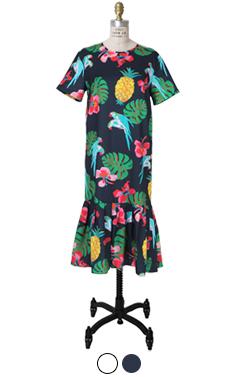 (ENCORE)PARROT DRESS