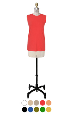 essential cotton sleeveless