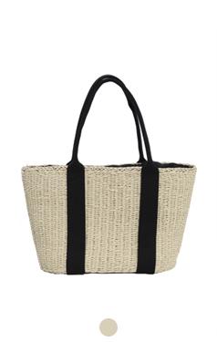 summer raffia bag