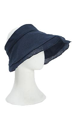 (encore)elegant linen visor hat
