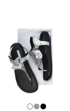 ruffled flipflop sandals