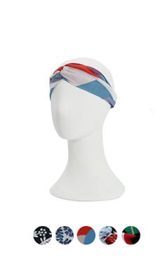 linen blended headband