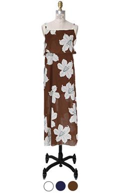kimono flower dress
