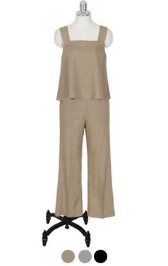 (encore)favorite linen pants 2pcs