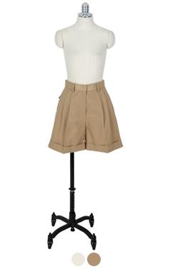 classic cuff shorts